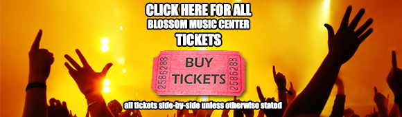 blossom music center tickets