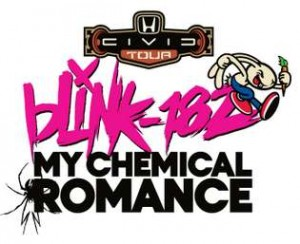 blink-182 My Chemical Romance 2011 Honda Civic