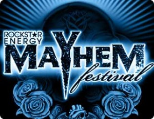 Rockstar Energy Mayhem Festival is set to kick start on July 8, 2012 at Comfort Dental Amphitheatre.