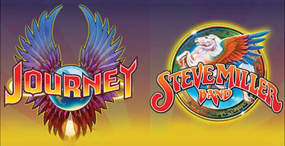 Journey & Steve Miller Band at Blossom Music Center