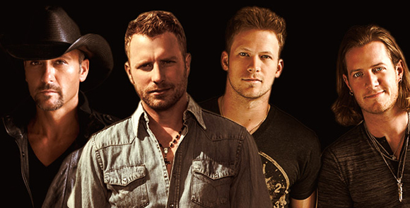 2015 Country Megaticket Tickets (Includes All Performances) at Blossom Music Center