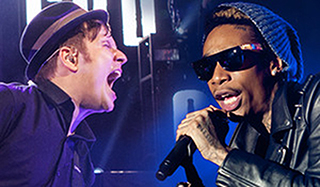 Fall Out Boy, Wiz Khalifa & Hoodie Allen at Blossom Music Center