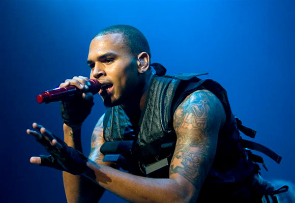 Chris Brown, Kid Ink & Omarion at Blossom Music Center