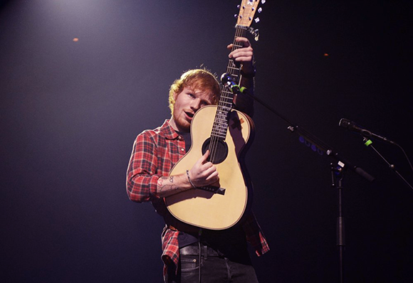 Ed Sheeran & Christina Perri at Blossom Music Center