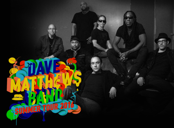 Dave Matthews Band Summer Tour 2016 at Blossom Music Center