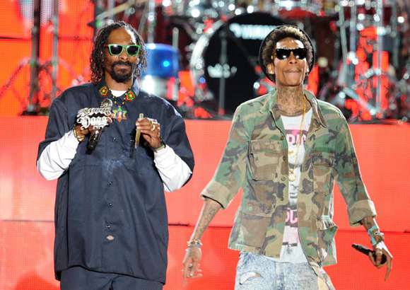 Snoop Dogg, Wiz Khalifa, Kevin Gates & Jhene Aiko at Blossom Music Center