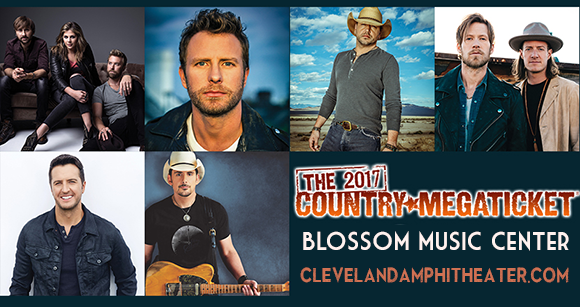 2017 Country Megaticket Tickets (Includes All Performances) at Blossom Music Center