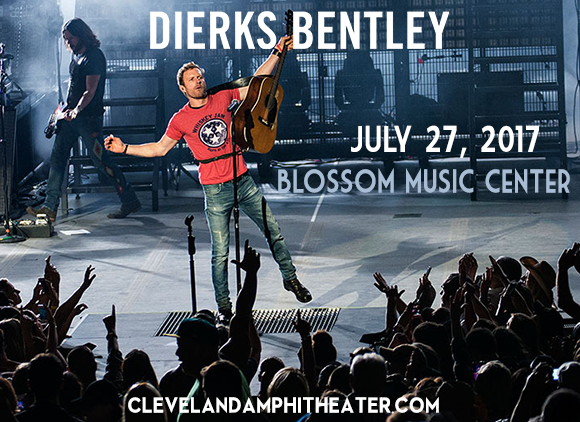 Dierks Bentley, Cole Swindell & Jon Pardi  at Blossom Music Center