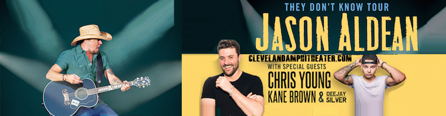 Jason Aldean, Chris Young & Kane Brown  at Blossom Music Center