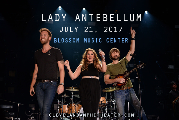 Lady Antebellum, Kelsea Ballerini & Brett Young at Blossom Music Center