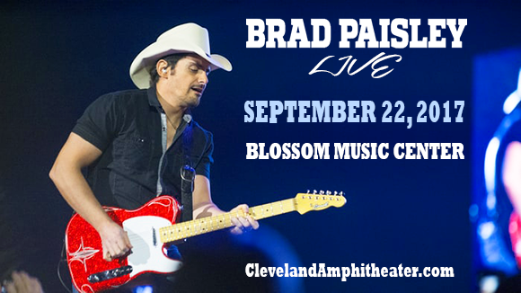 Brad Paisley, Dustin Lynch, Chase Bryant & Lindsay Ell at Blossom Music Center