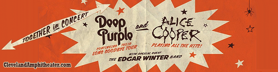 Deep Purple & Alice Cooper at Blossom Music Center