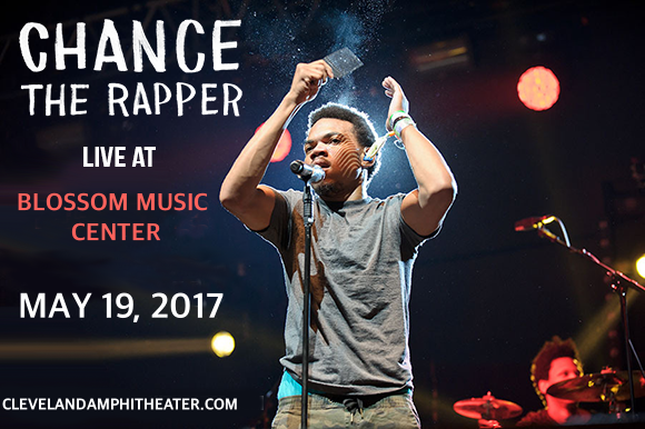 Chance The Rapper at Blossom Music Center