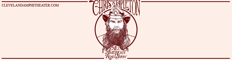 Chris Stapleton, Margo Price & Brent Cobbs at Blossom Music Center
