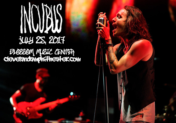 Incubus & Jimmy Eat World at Blossom Music Center