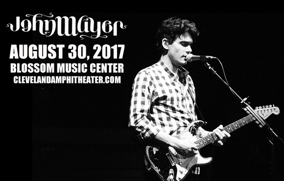 john mayer tickets 30th august blossom music center. Black Bedroom Furniture Sets. Home Design Ideas