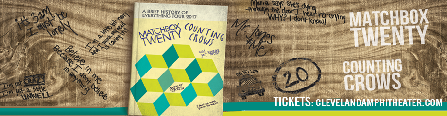 Counting Crows & Matchbox Twenty at Blossom Music Center