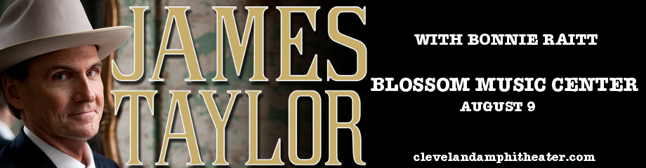 James Taylor & Bonnie Raitt at Blossom Music Center