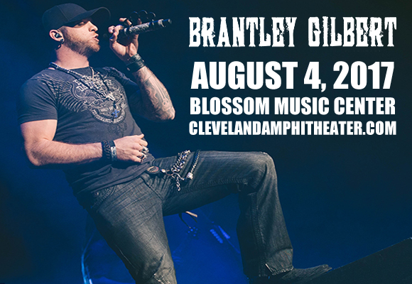 Brantley Gilbert, Tyler Farr & Luke Combs at Blossom Music Center