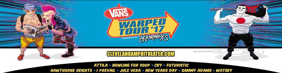 Vans Warped Tour at Blossom Music Center