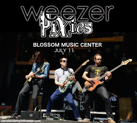 Weezer, Pixies & The Wombats at Blossom Music Center