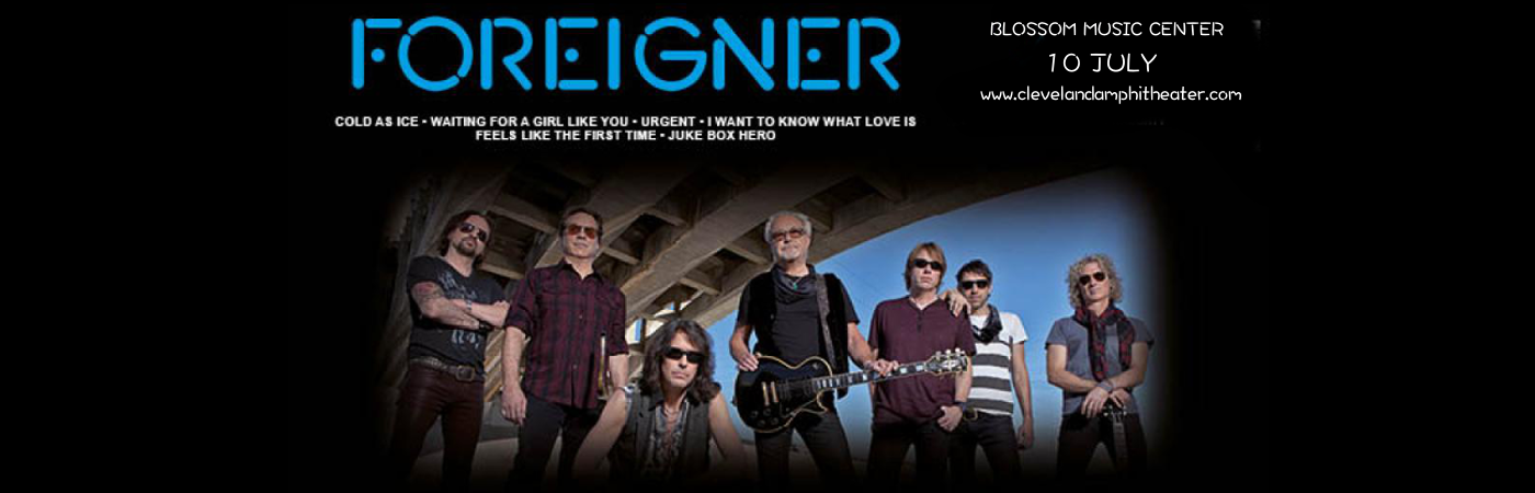 Foreigner & Whitesnake at Blossom Music Center