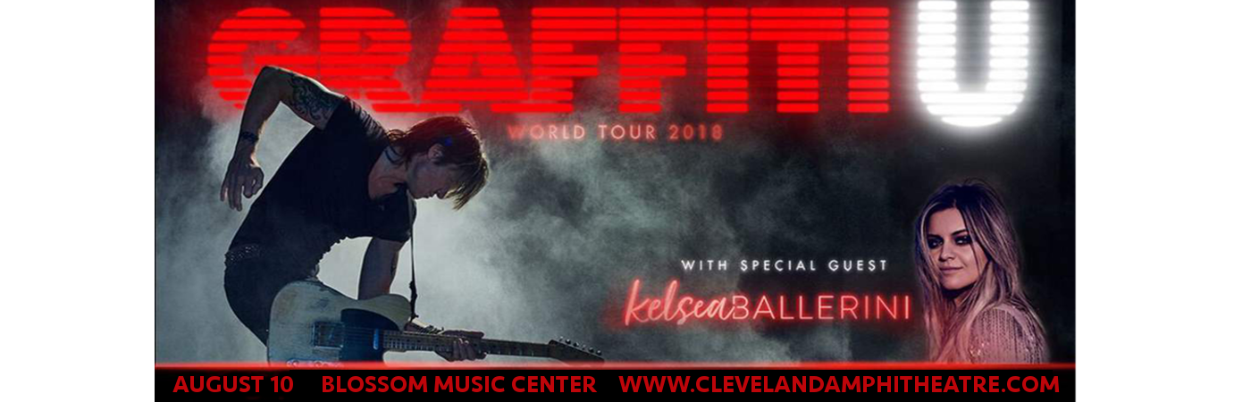 Keith Urban & Kelsea Ballerini at Blossom Music Center