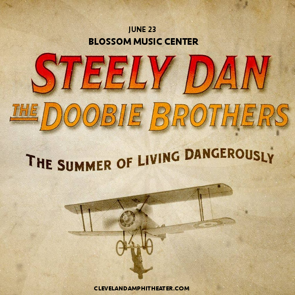 Steely Dan & The Doobie Brothers at Blossom Music Center