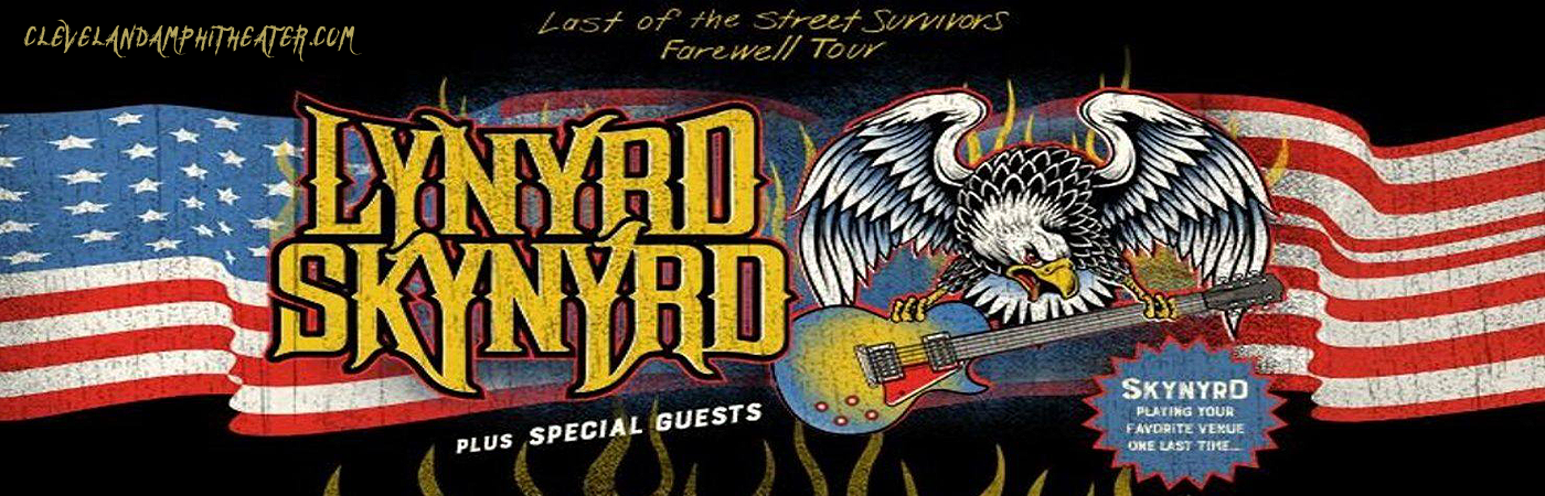 Lynyrd Skynyrd at Blossom Music Center