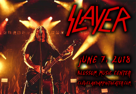 Slayer, Lamb of God, Anthrax. Behemoth & Testament at Blossom Music Center
