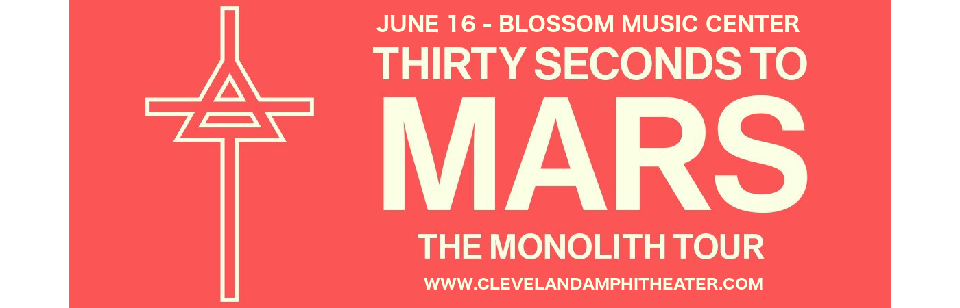 30 Seconds To Mars, Walk The Moon & MisterWives at Blossom Music Center
