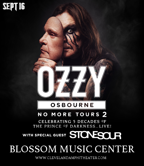 Ozzy Osbourne & Stone Sour at Blossom Music Center