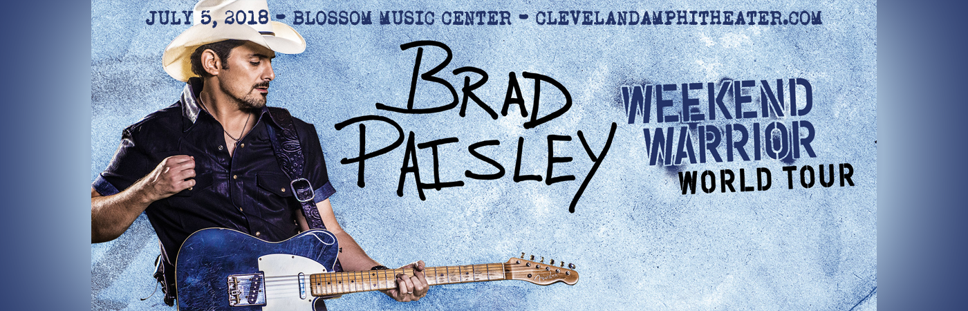 Brad Paisley, Dan Tyminski & Hank Williams Jr. at Blossom Music Center