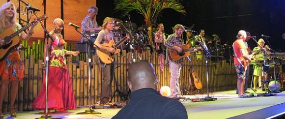 Jimmy Buffett And The Coral Reefer Band at Blossom Music Center