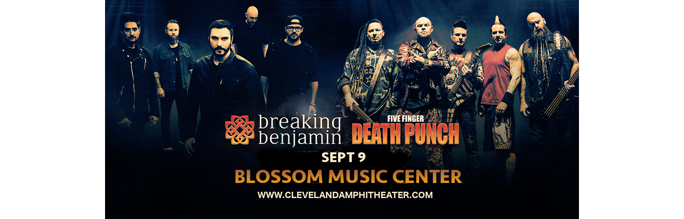 Breaking Benjamin Tour Cleveland