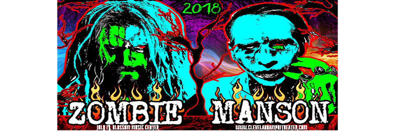 Rob Zombie & Marilyn Manson at Blossom Music Center