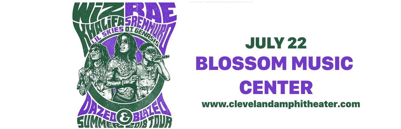 Wiz Khalifa & Rae Sremmurd at Blossom Music Center
