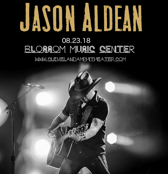Jason Aldean, Luke Combs & Lauren Alaina at Blossom Music Center