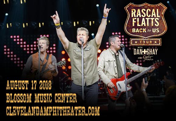 Rascal Flatts, Dan and Shay & Carly Pearce at Blossom Music Center