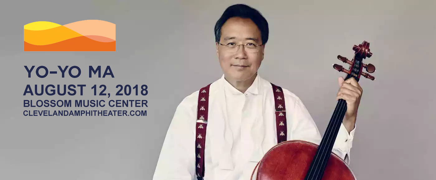 Yo Yo Ma at Blossom Music Center