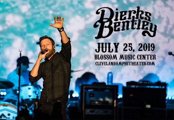 Dierks Bentley, Jon Pardi & Tenille Townes at Blossom Music Center