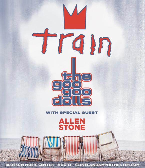 Train, Goo Goo Dolls & Allen Stone at Blossom Music Center