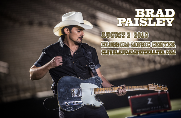 Brad Paisley, Chris Lane & Riley Green at Blossom Music Center