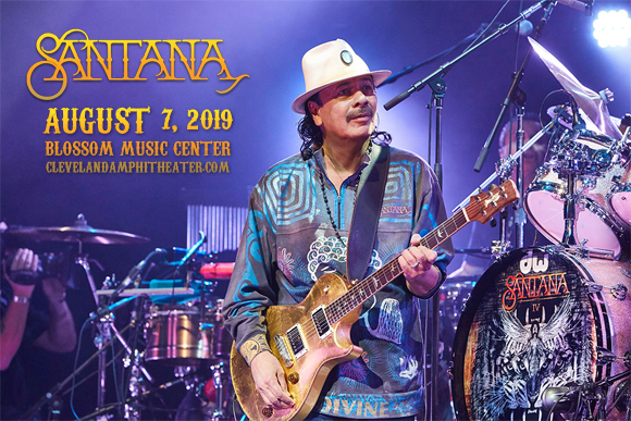 Santana & The Doobie Brothers at Blossom Music Center