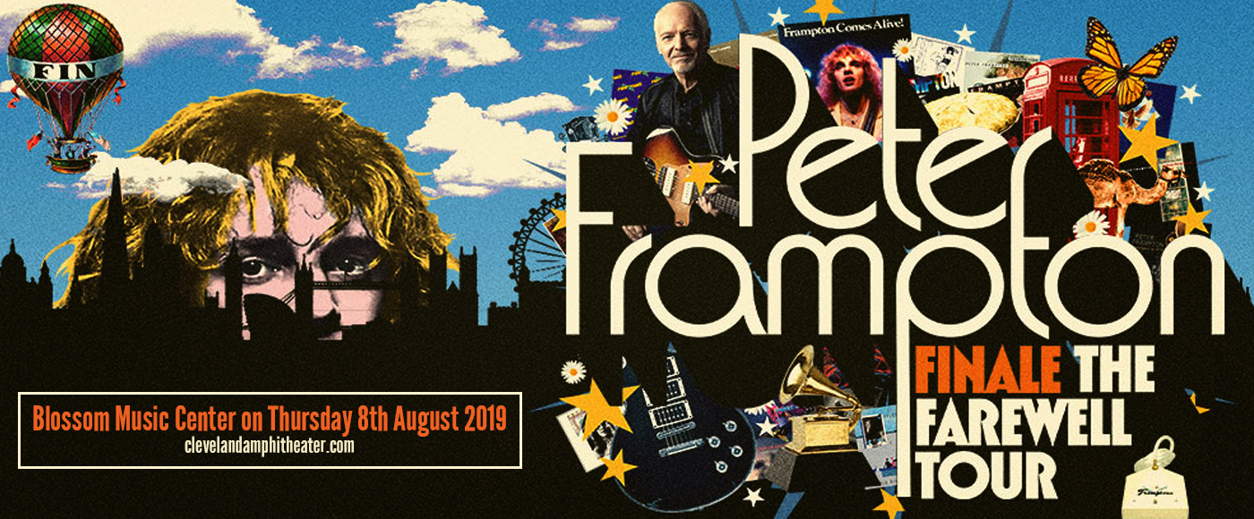 Peter Frampton at Blossom Music Center