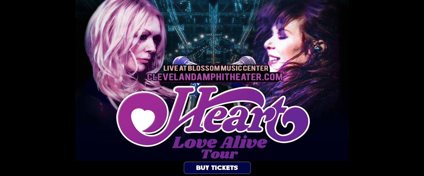 Heart, Joan Jett and the Blackhearts & Elle King at Blossom Music Center