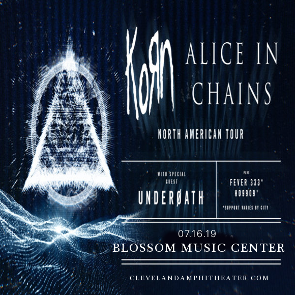 Korn & Alice In Chains at Blossom Music Center