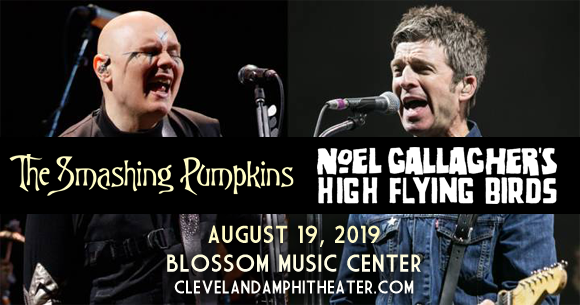 Smashing Pumpkins & Noel Gallagher's High Flying Birds at Blossom Music Center