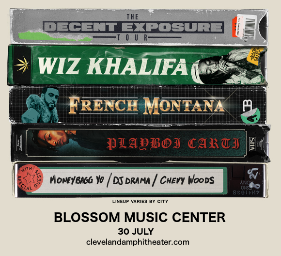 Wiz Khalifa & French Montana at Blossom Music Center