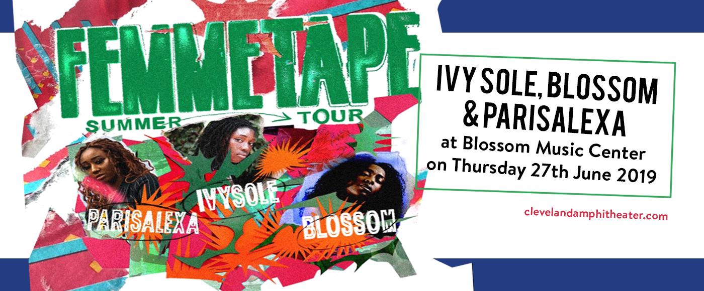 Ivy Sole, Blossom & Parisalexa at Blossom Music Center